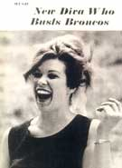 Cover Photo of Jane Marsh: New Diva Who Busts Broncos. LIFE Collectors Edition